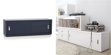 sliding door media cabinet display your television on a modern media console2014