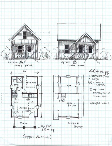 cottage blueprints 62 best cabin plans with detailed updated