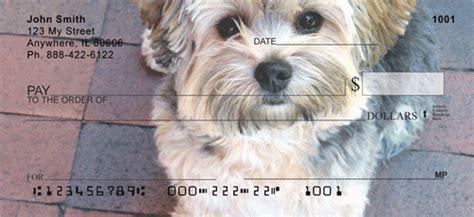 yorkie personal checks yorkies at play personal checks