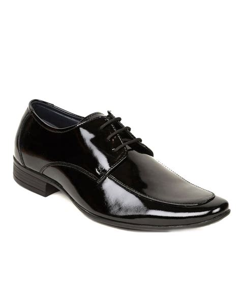 bliss black shiny mens formal shoes price in india buy