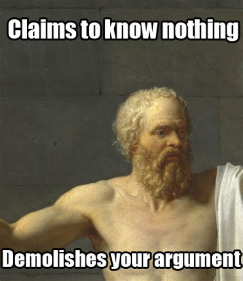 Philosopher Meme - 60 philosophy memes for you lovers of wisdom
