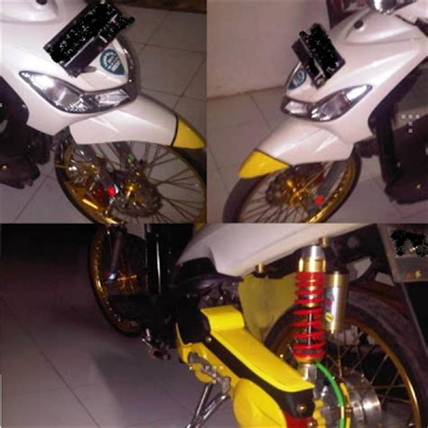As Shock Byson Import Made In Thailand mio sporty 2009 modifikasi siap buat nang inspirasi modif
