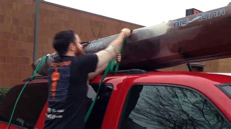 jackson big tuna kayak hauling  top   suburban youtube