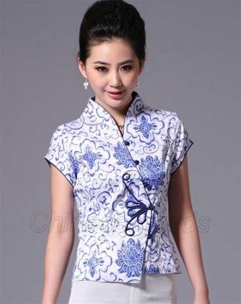 Brukat Cheongsam Collar cheongsam batik blouse batik i want
