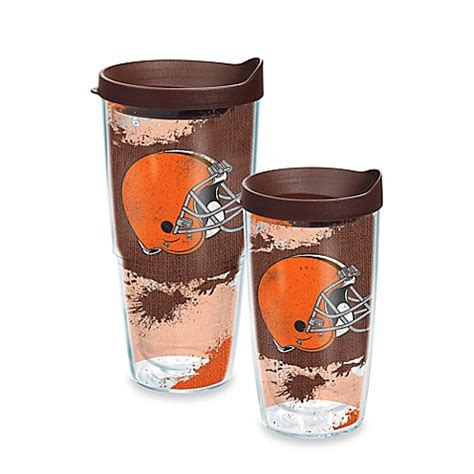 cleveland brown bathtub tervis 174 nfl cleveland browns distressed wrap tumbler with