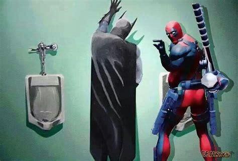 Deadpool Bathroom by Batman Vs Deadpool Asgard Hammer