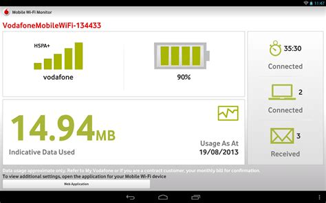 vodafone mobile wifi monitor app vodafone mobile wi fi monitor android apps on play