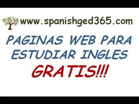 aprender ingles gratis paginas para aprender ingles gratis youtube