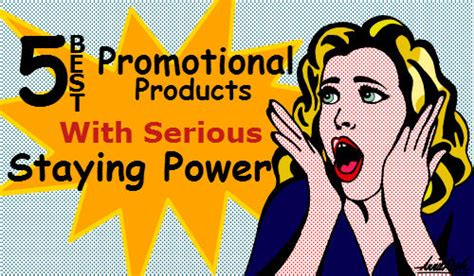 Best Office Giveaways - 5 best promotional products with serious staying power