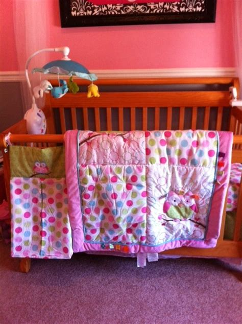 owl crib bedding for girl faith and family reviewskids ii taggies bedding and