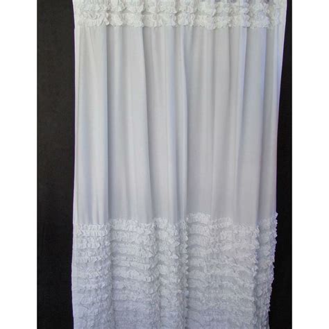 White Ruffle Curtains Curtains Of Feather White Ruffle Curtains 171 Blinds Shades Curtains Stuff To Buy