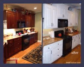 Painted Kitchen Cabinets Before And After » Ideas Home Design