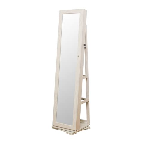 full length mirror jewellery cabinet the range elements jewellery cabinet mirror