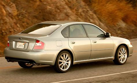 Subaru Legacy Gt 2006 by Car And Driver