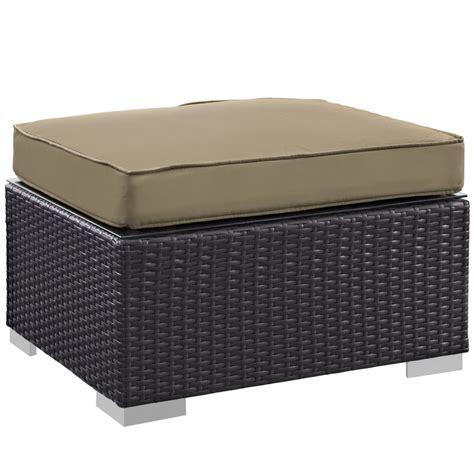 moda outdoor ottoman modern furniture brickell collection