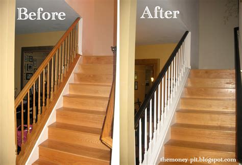 how to paint stair banisters railings project melinda ln purchases on pinterest 24 pins