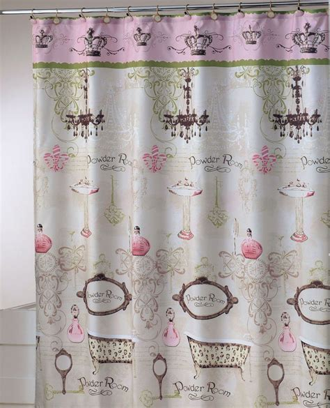 Vintage Shower Curtains Essential Home Vintage Apothecary Shower Curtain