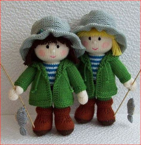 knitted doll 448 best images about crocheted and knit dolls on