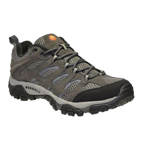 merrell moab ventilator mens grey black walking hiking