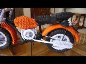 Does Make Motorcycles How To Make 3d Origami Motorcycle How To How To Do Diy