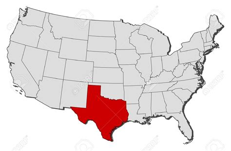 usa map texas texas state map clipart 64