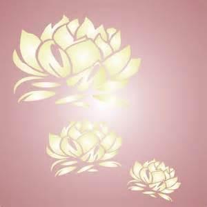 Lotus Stencil Lotus Flower Stencil Lotus Buddha Fever