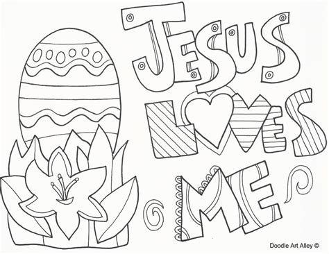 easter coloring pages jesus christ religious easter coloring pages doodle art alley