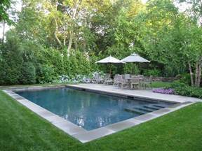 Backyard Pool Landscaping Ideas Edmund Landscape Architects Sag Harbor At Home Outside In The Corner