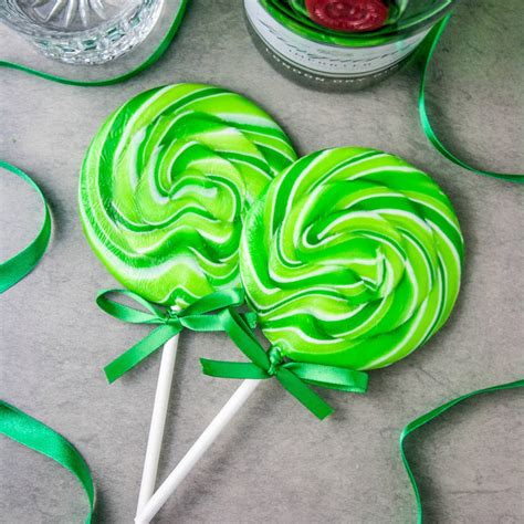 giant alcoholic giant alcoholic gin and elderflower lollipop by holly s