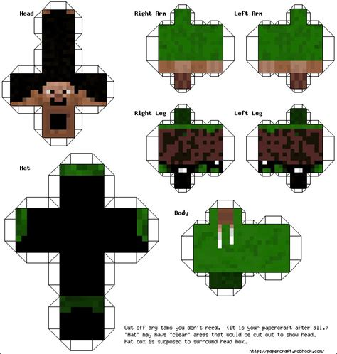 Papercraft Characters - minecraft person papercraft driverlayer search engine