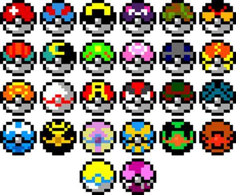 MakePixelArt   Search Results for pokemon pokeball   Make Pixel     random stuff   Pinterest