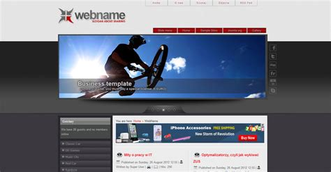 templates for joomla 3 free joomla 3 0 template web name free joomla templates
