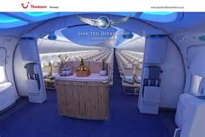 pin dreamliner interior thomson airways inside the boeing