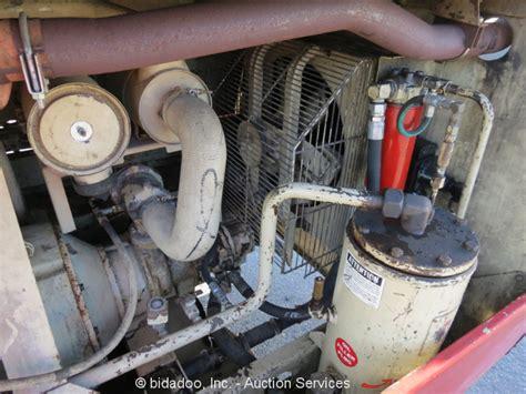 ingersoll rand p160wjd portable 160cfm air compressor deere diesel repair ebay