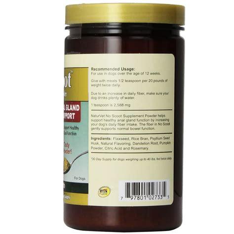 supplement powder naturvet no scoot supplement powder