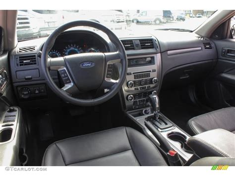 2012 Ford Fusion Sel Interior by 2012 Ford Fusion Sel Charcoal Black Dashboard Photo