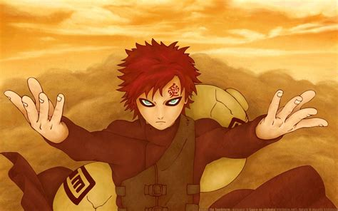 imagenes de give up 2 wallpapers gaara kazekage wallpaper cave