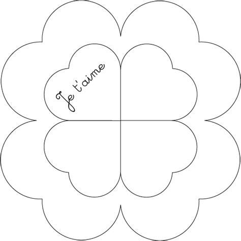La Fleur C Ur Version Saint Valentin Debout Ludo Le Blog Coloriage Coeur Fleur L