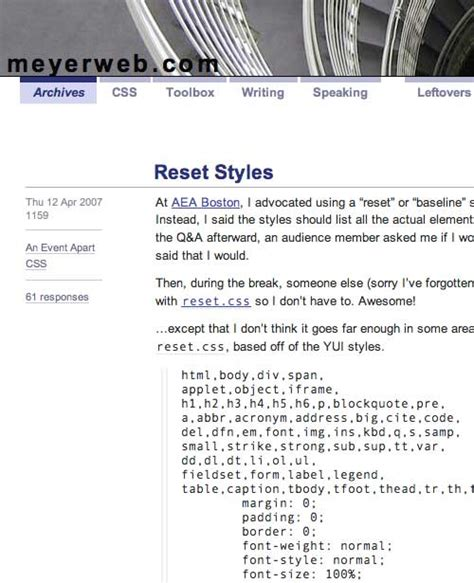 reset css online link create a killer band site in drupal part 3 xhtml go