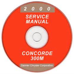 2000 chrysler concorde 300m and dodge intrepid service