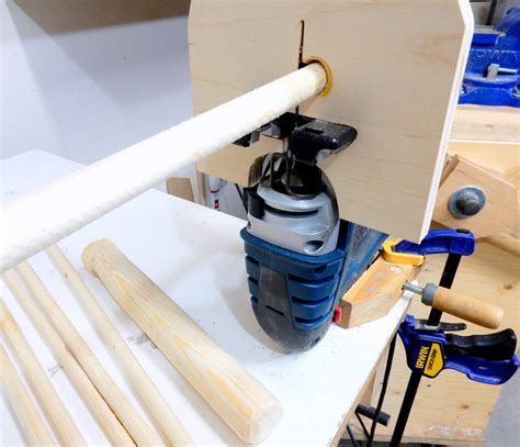 jigsaw projects woodworking dowels with a jigsaw by houweling