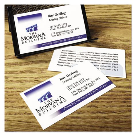 printable business card paper true print clean edge business cards inkjet 2 x 3 1 2