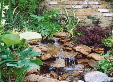yard features 22 beautiful waterfalls for natural backyard and front