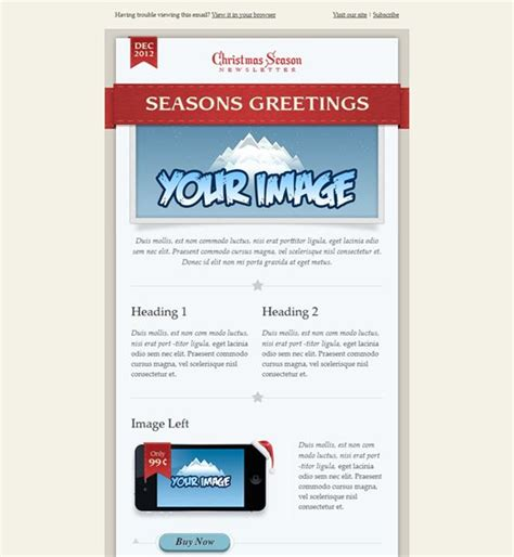 website newsletter tutorial 17 best images about 12 of the best holiday christmas