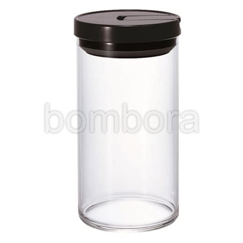 Hario Coffee Canister 300 Black Hario Canister 300g Black Cloths Miscellaneous Barista Tools