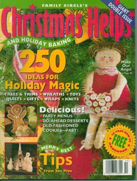 christmas magazine family circle woman s day special issue