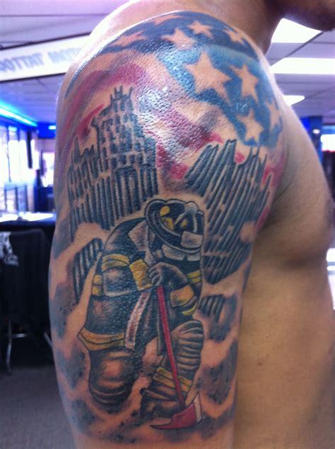 tattoo charlies preston 9 11 memorial by joel s