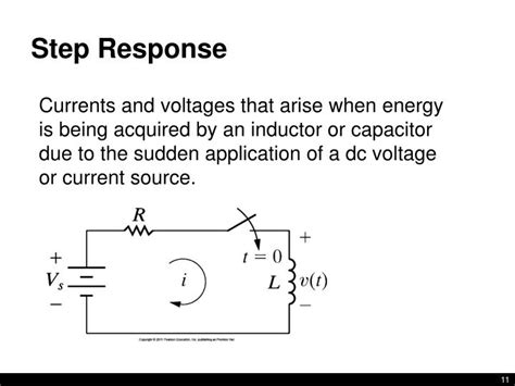 capacitor voltage step response ppt lecture 10 rl rc circuits nilsson riedel 7 1 7 6 powerpoint presentation id 6543353