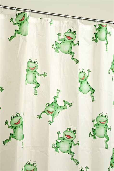 Frog Shower Curtains Jumping Frog Robert Green Australia S Leading Range Of Shower Curtains Bathroom Accessories