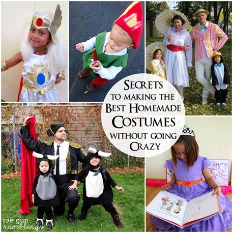 Handmade Costumes - the best costume tips for success and